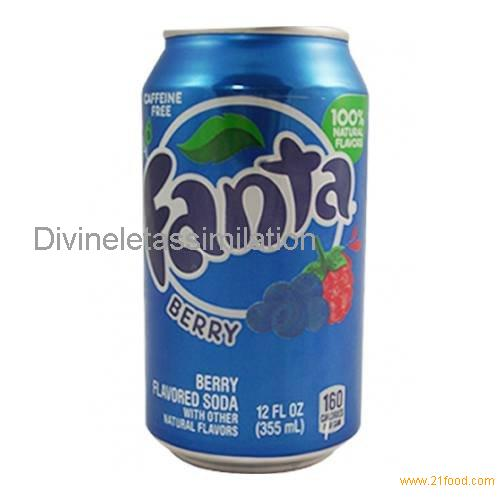 Fanta Berry 12 FL OZ (355ml) 12 Cans