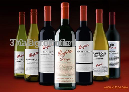 Wholesale Australian PENFOLDS BIN Series , Red wine