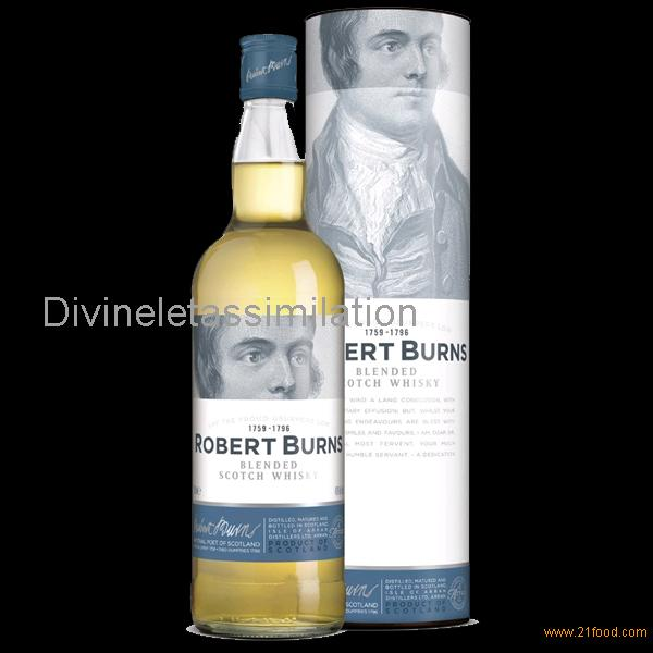Robert Burns - Whisky - Blended de l'Ile d'Arran 40%