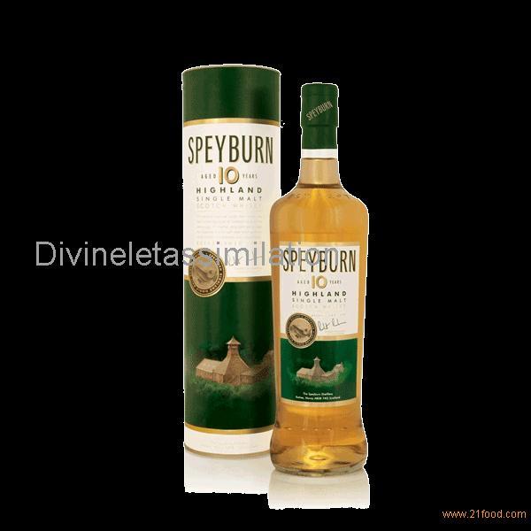 Speyburn 10 ans- Speyside Single Malt 40%vol