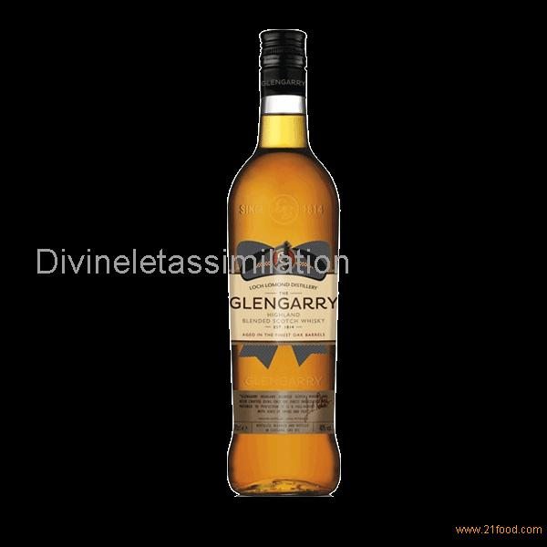 Glengarry Blended Scotch Whisky 40%vol
