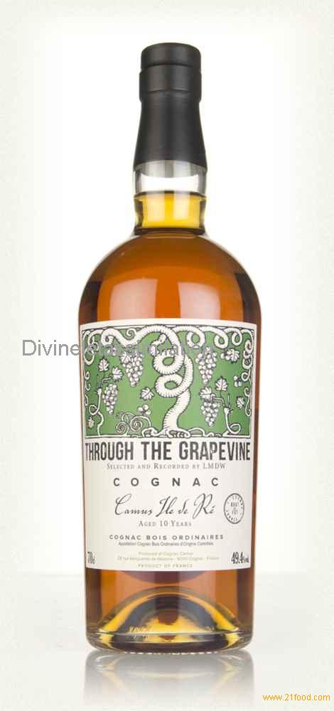 Camus 10 Year Old 2007 - Through The Grapevine (La Maison du Whisky) (70cl, 49.4%)