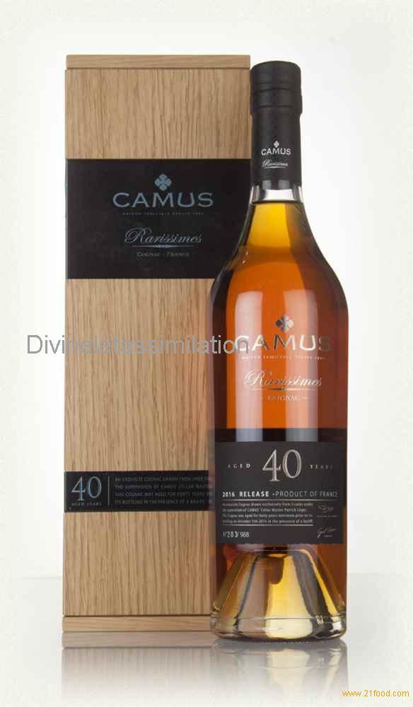 Camus 40 Year Old Rarissimes (70cl, 40.6%)