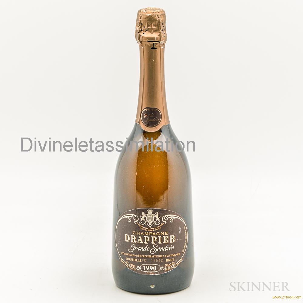 Drappier Grande Sendree 1990, 1 bottle