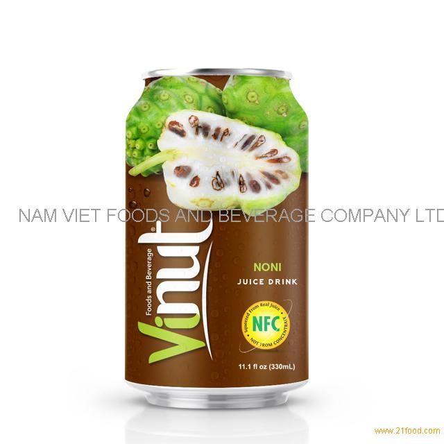 330ml Canned Noni juice drink