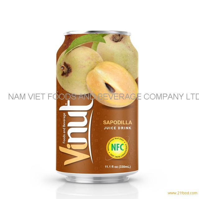 330ml Canned Sapodilla juice drink