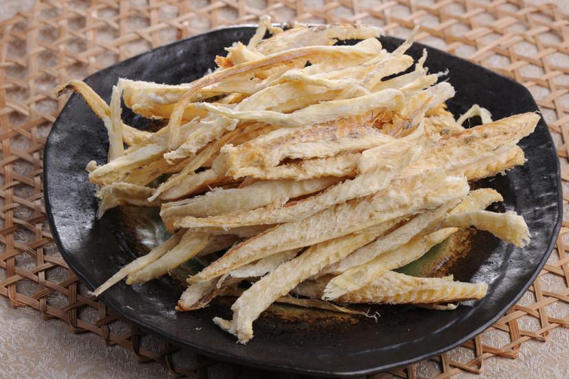frozen dried cod silk