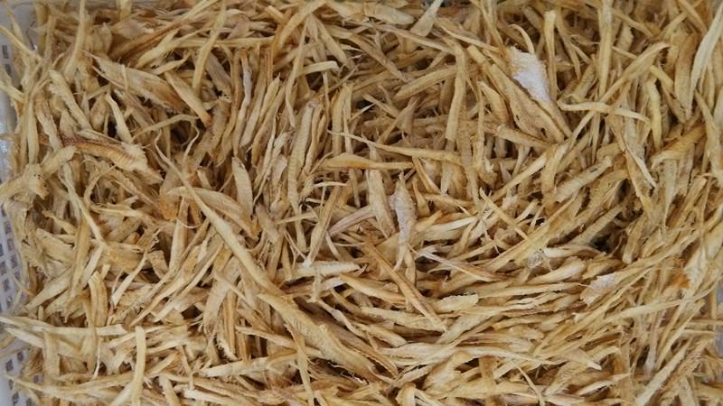 frozen dried pollack silk