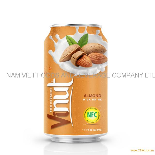 330ml Canned Almond juice drink