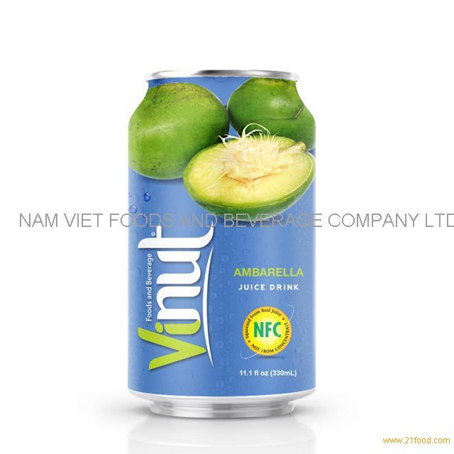 330ml Canned Ambarella juice drink