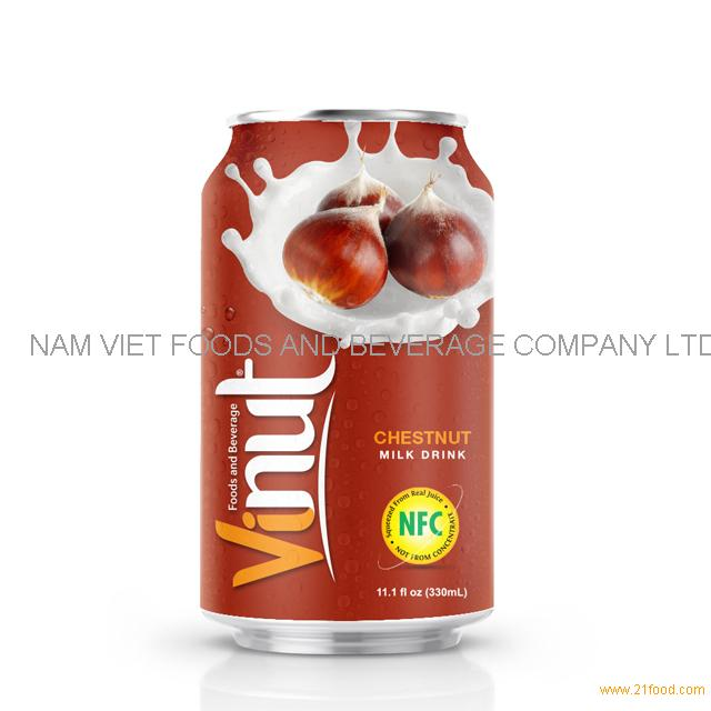 330ml Canned Chestnut juice drink