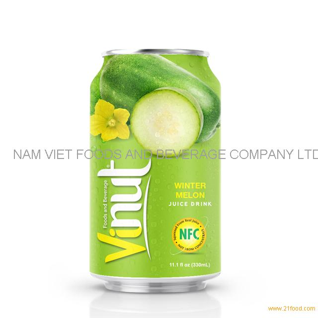330ml Canned Winter melon juice drink