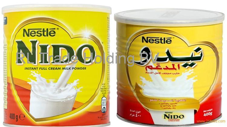 Nestle Nido Milk Powder White Cap 400gr,900gr,1800gr,2500gr Tins