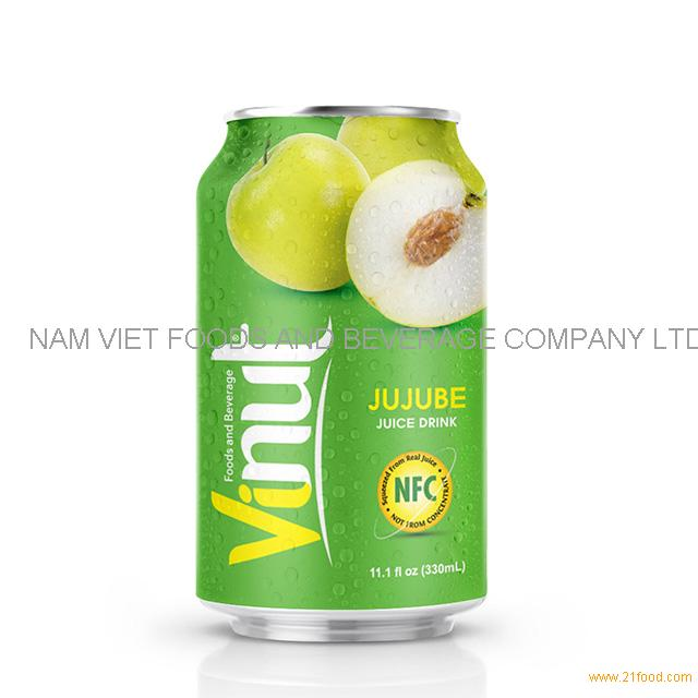 330ml Canned JUJUBE juice drink