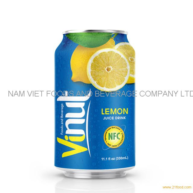 330ml Canned Lemon juice drink