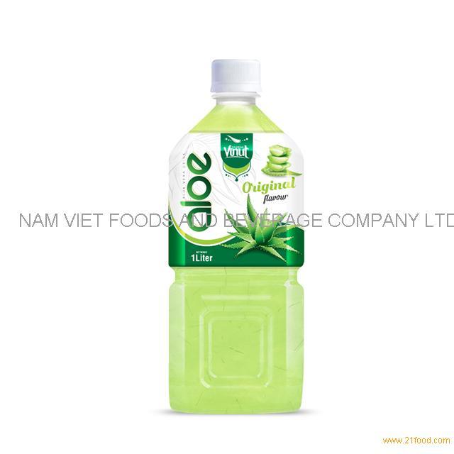 1L Premium Bottle Aloe Vera Drink Original