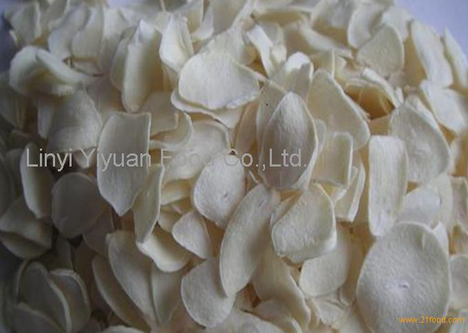 High quality garlic flake for Japan customer demand