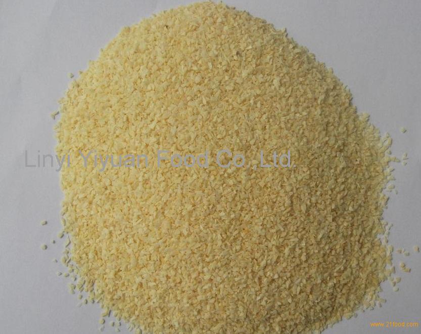 A Grade Dried Garlic Granules Dehydrated Garlic