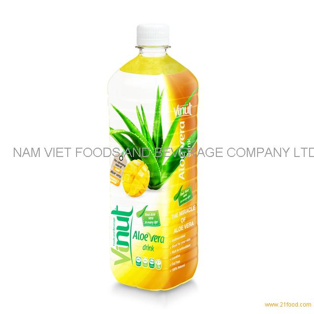 1.5L Big Bottled Aloe Vera Premium Drink with Mango juice