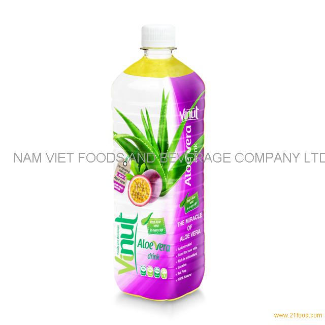 1.5L Big Bottled Aloe Vera Premium Drink with Passion juice