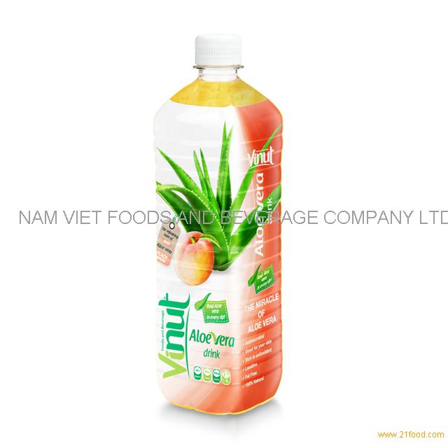 1.5L Big Bottled Aloe Vera Premium Drink with Peach juice