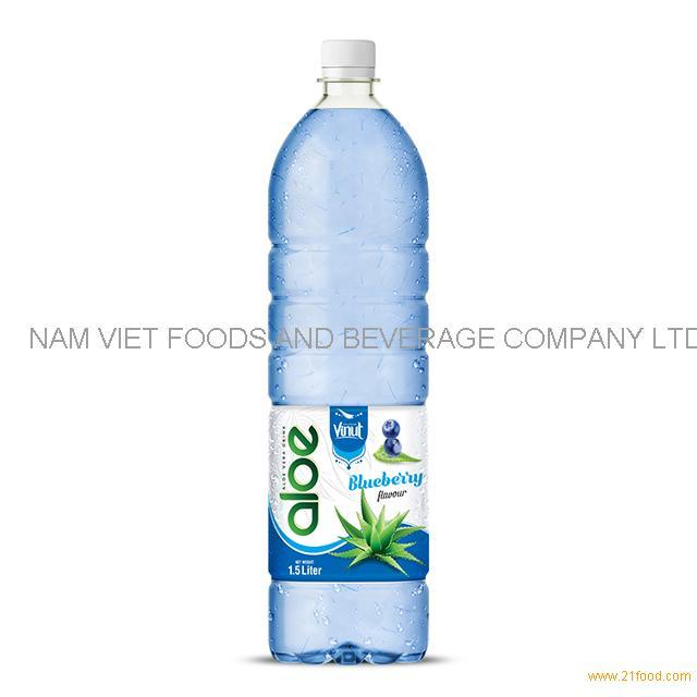 1,5L Bottle Aloe Vera Drink Premium Orange flavor