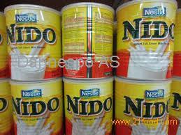 Nestle NIDO Milk Powder 400gr, 900gr, 1800gr, 2500gr Tins