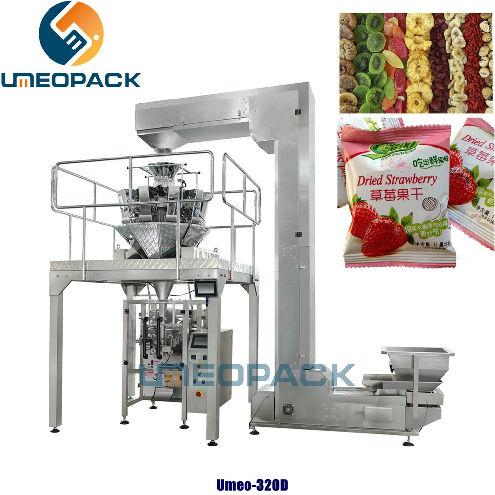 Automatic dry fruits snack packing machine