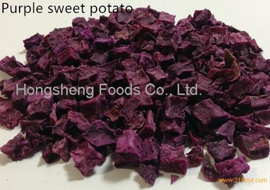 Dehydrated Purple Sweet Potato Flakes for pet foods ingredients