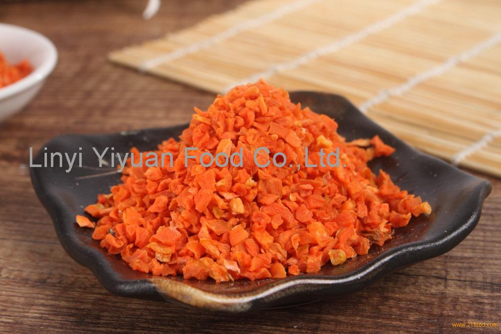 First GRADE Organic carrot granules with high quality for European market