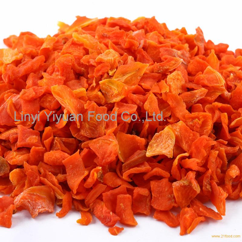 carrot slices with high quality produced in China