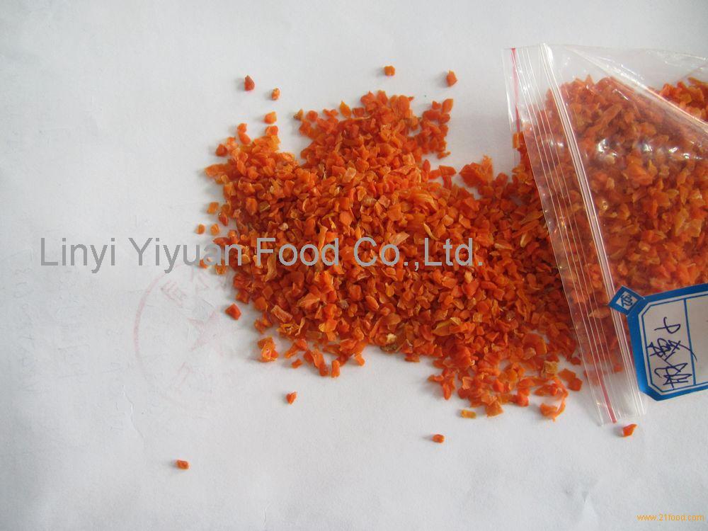 bulk packed carrot granule