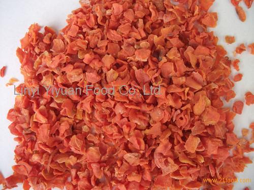 organic carrot granule, bulk packed carrot granule