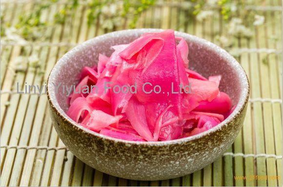 Wholesale tasty pickled pink sushi ginger for Japanese sushi
