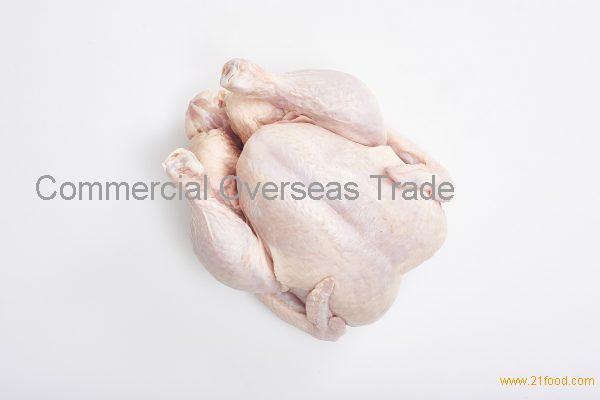 Halal Frozen Whole Chicken Skin On