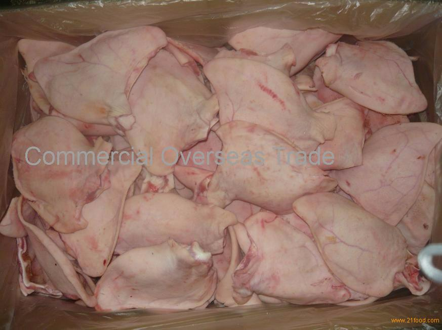 "Frozen Pork Ears ""Flaps"" From Brazil, 30% discount"