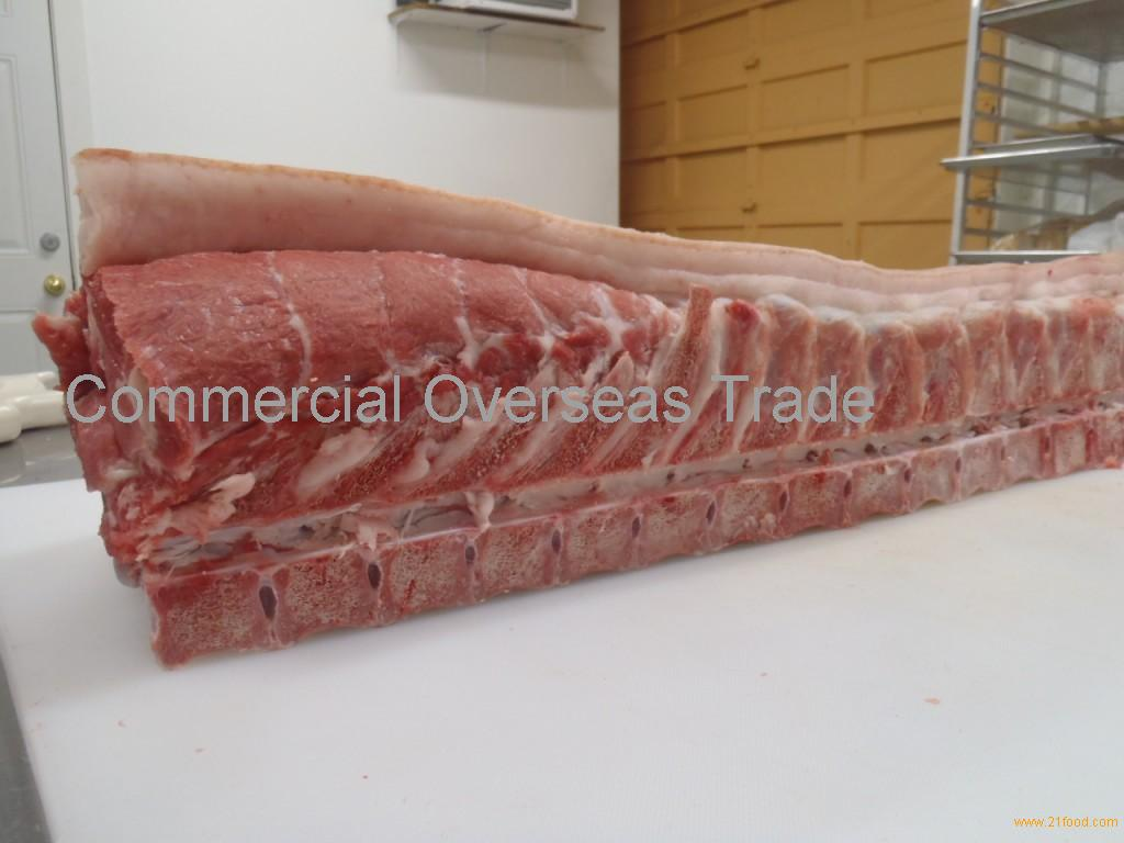 Frozen pork loin bone in, with / without vertebrae from Brazil. 30% discount