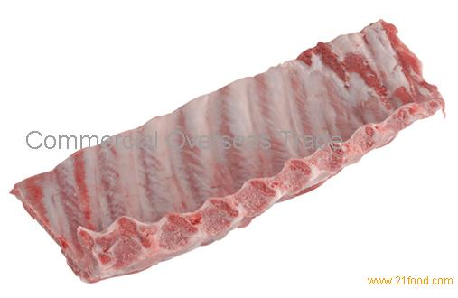 Frozen pork loin ribs from Brazil. 30% discount
