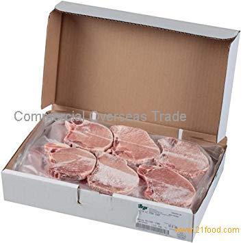 Frozen Pork Chop, Bone in from Brazil. 30% Discount