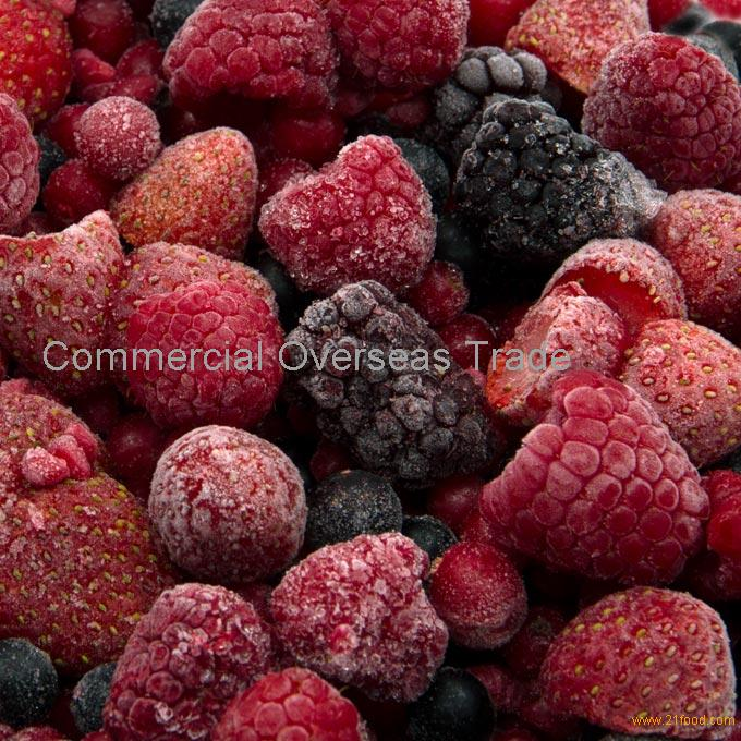 IQF Mixed Berries, Mixed Berry Puree, Mixed Berry Concentrate on sale, 30% discount