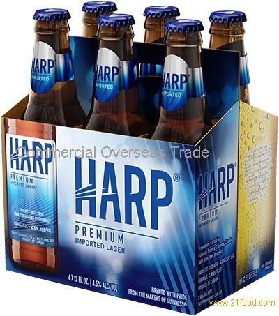 Harp beer available on 30 % Discount (Can/ Bottle)