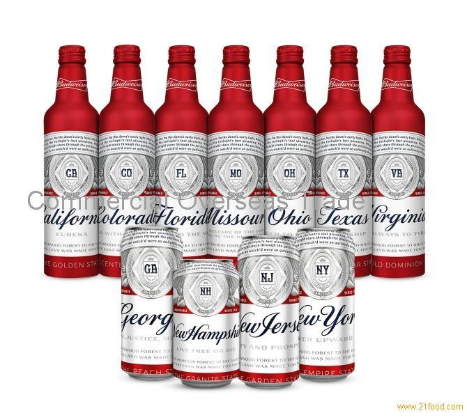 Budweiser Lager (Can / Bottle) Fresh Stock