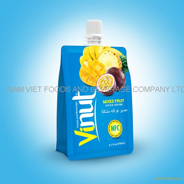 150ml 100% Pouches Mix Juice Drink