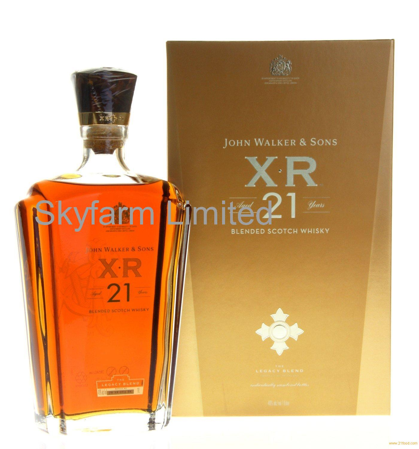 Johnnie Walker XR 21 Years Blended Scotch Whisky