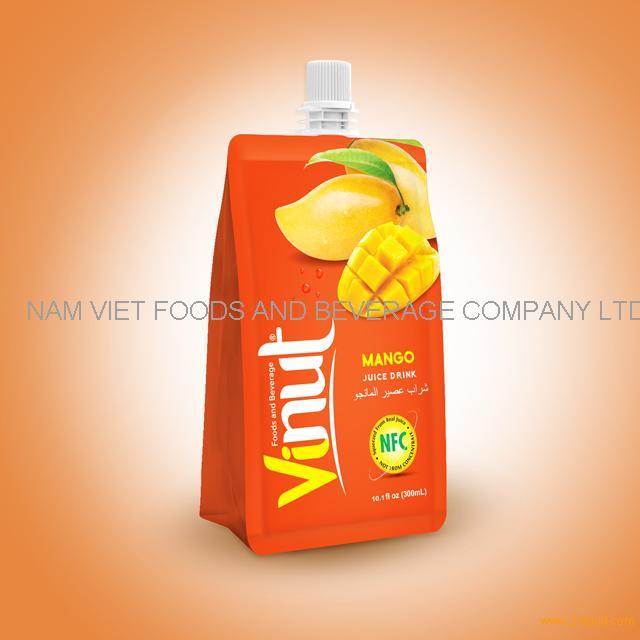 10.1fl oz 100% Pouches Mango Juice Drink