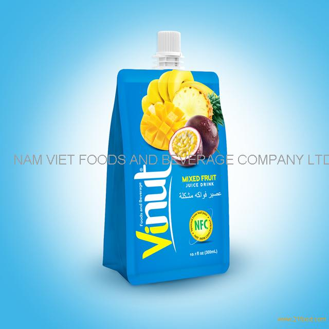 10.1fl oz 100% Pouches Mix Juice Drink