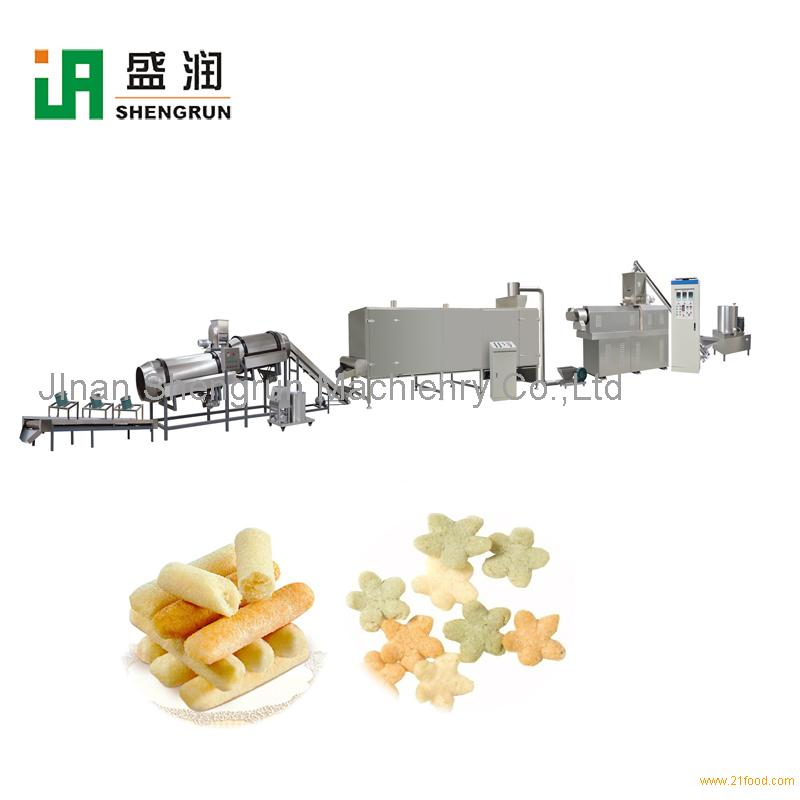 Inflating Chips Snacks Food Machine Production Line