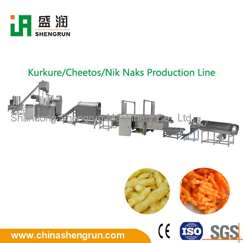 cheese corn snacks machine