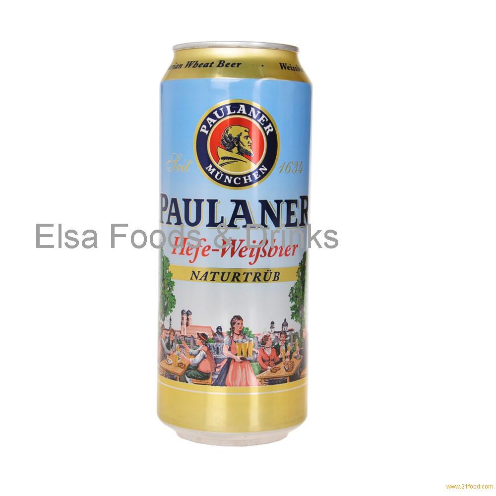 PAULANER Beer 500ml can