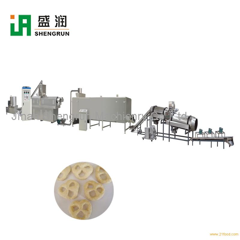High Quality Cheese Curls Puff Corn Snacks Extruder Machine